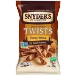 Snyder's of Hanover Braided Pretzel Twists, Honey Wheat, 12 Oz