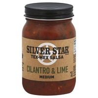 Silver Star Salsa, Tex-Mex, Cilantro & Lime, Medium