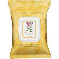 Burt's Bees Facial Cleansing Towelettes with White Tea Extract - 30 CT