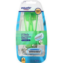 Equate 5 Blade Disposable Razors for Women