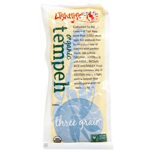 Lightlife Organic Three Grain Tempeh