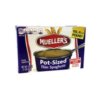 Mueller's Thin Spaghetti, Pot-Sized