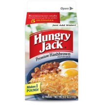 Hungry Jack Premium Hashbrown Potatoes, 4.2 oz