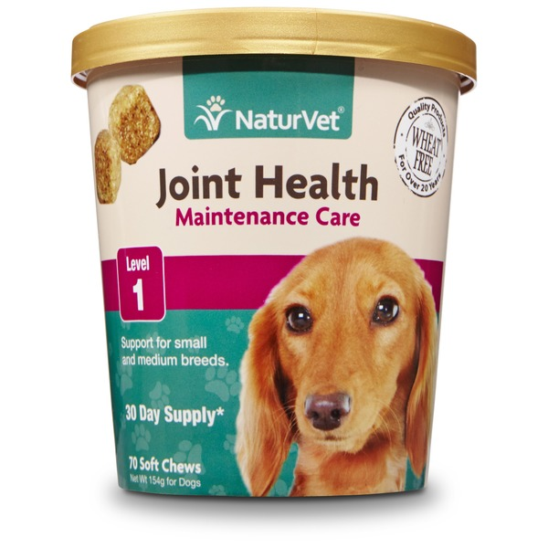 NaturVet Joint Health Maintenance Care Dog Soft Chews