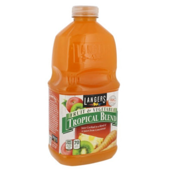 Langers Fruit & Vegetable Tropical Blend Juice Cocktail