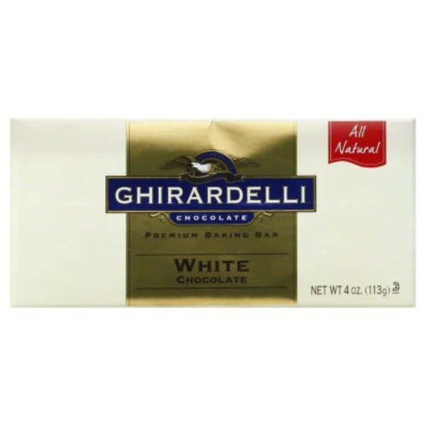 Ghirardelli Chocolate Baking Bar Ghirardelli White Chocolate