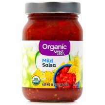 Great Value Organic Salsa Mild, 16 oz