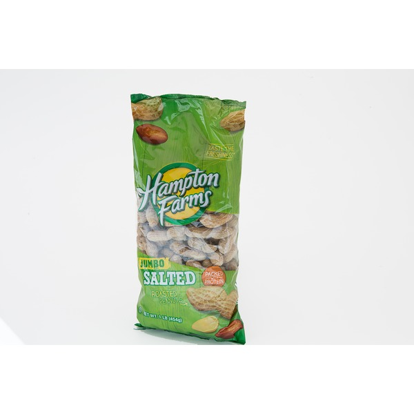 Hampton Farms Premier Salted & Roasted Jumbo Peanuts in Shell