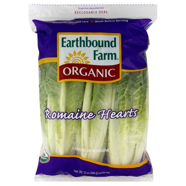 Earthbound Farm Organic Romaine Hearts