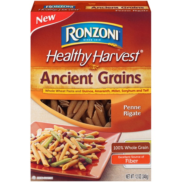 Ronzoni Healthy Harvest Whole Wheat Pasta & Ancient Grains Penne Rigate