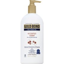 Gold Bond Ultimate Eczema Relief Skin Protectant Lotion 2%, Colloidal Oatmeal, 14 Oz