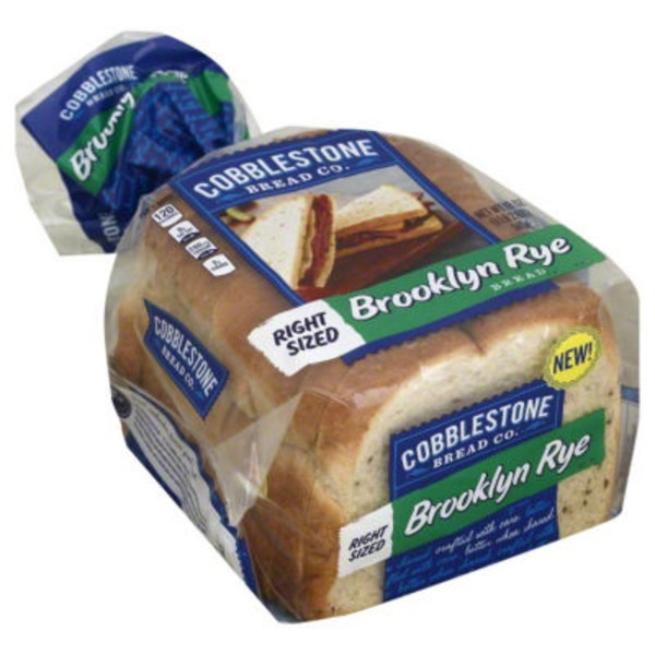 Cobblestone Mill Brooklyn Rye Bread