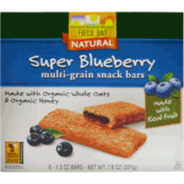 Field Day Multi Grain Super Blueberry Bar
