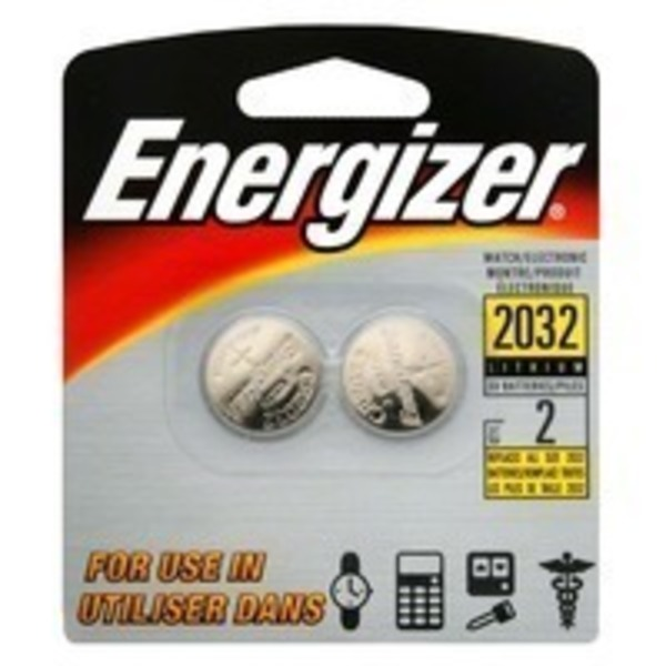 Energizer 2032 Watch Batteries 3V - 4 CT