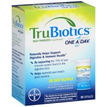 One A Day TruBiotics Daily Probiotic Supplement Capsules, 30 Count