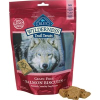 Blue Buffalo Dog Treats, Natural Crunchy, Grain-Free, Salmon Biscuits