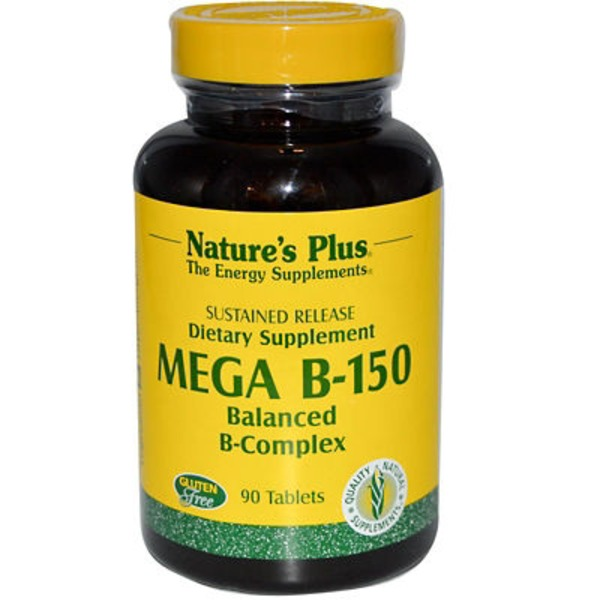 Nature's Plus Mega B 150 Balanced B-Complex