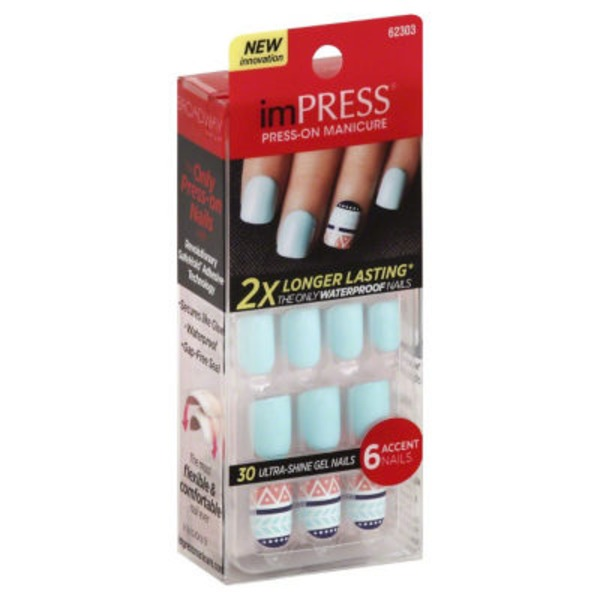 imPRESS Gel Manicure Bells & Whistles - 24 CT