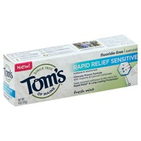 Tom's of Maine Rapid Relief Sensitive Toothpaste Fresh Mint