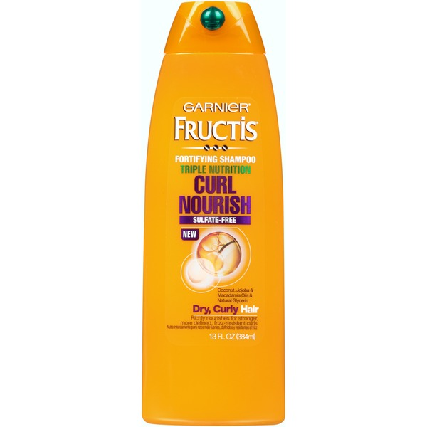 Fructis® Curl Nourish for Dry, Curly Hair Triple Nutrition Shampoo
