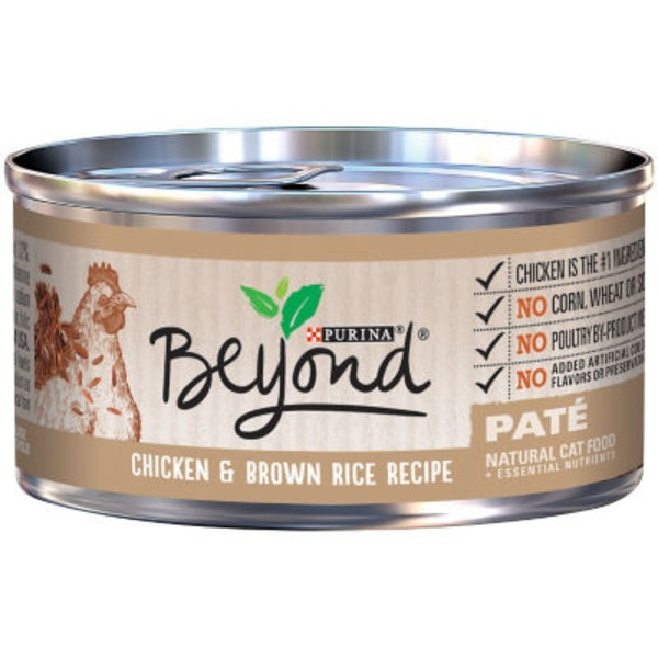 Purina Beyond Cat Wet Chicken & Brown Rice Recipe Cat Food