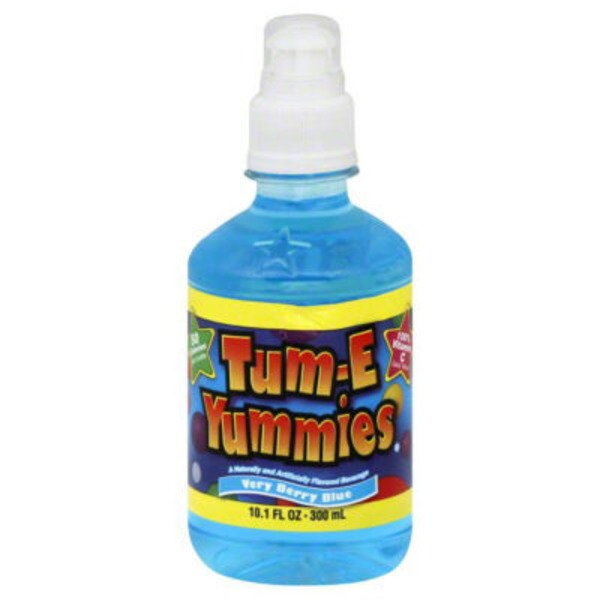 Tum E Yummies Very Berry Blue Fruit Flavored Drink