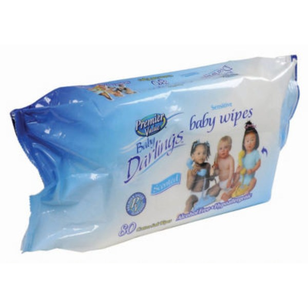 Premier Value Baby Darlings Baby Wipes