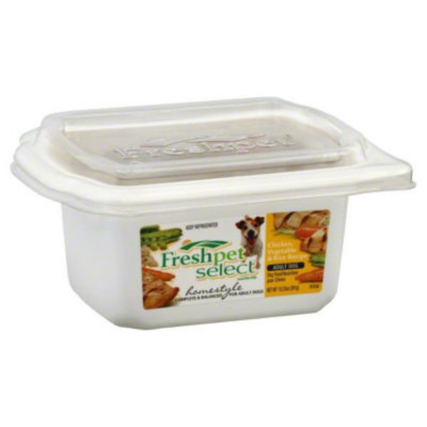 Freshpet Stews Grain Free Chicken & Veg Fresh Dog Food