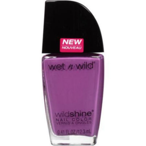 Wet n' Wild Wildshine Nail Color 488B Who Is Ultra Violet?