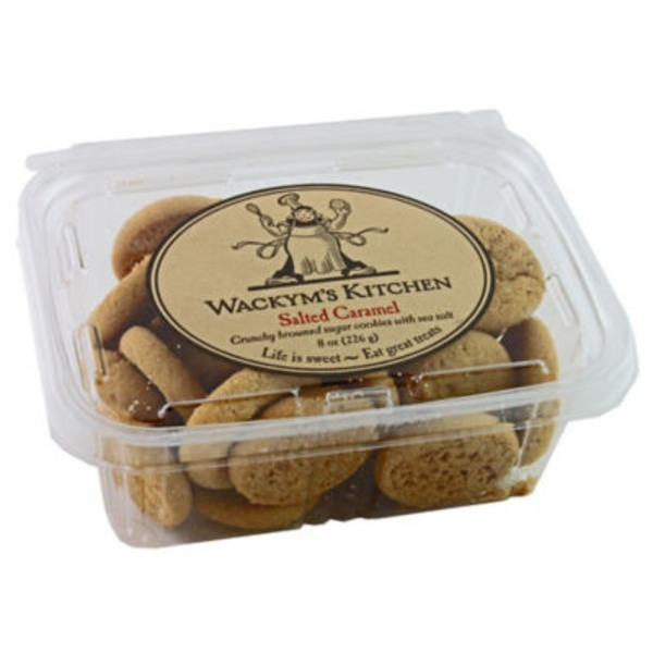 Wackym's Kitchen Salted Caramel Cookies