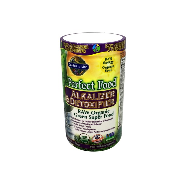 Garden of Life Perfect Food Alkalize & Detoxifier RAW Organic Green Super Food