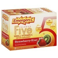 Emergen-C Strawberry-Kiwi Vitamin C Drink Mix Dietary Supplement