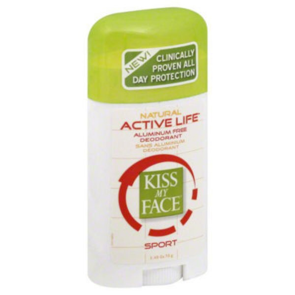 Kiss My Face Sport Active Life Deodorant No White Marks
