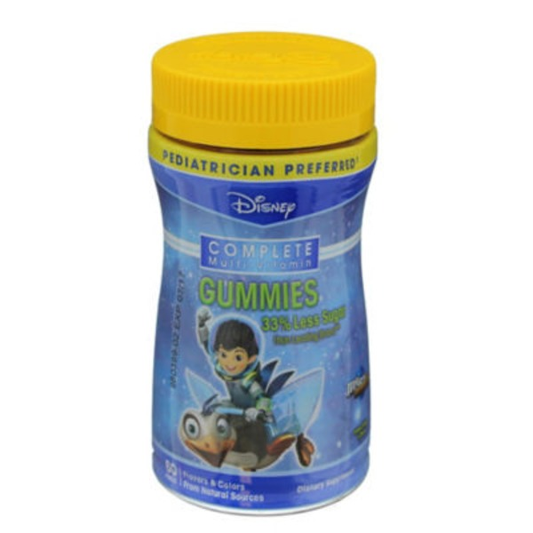 Disney Complete Multi Vitamin Gummies Miles Tomorrowland