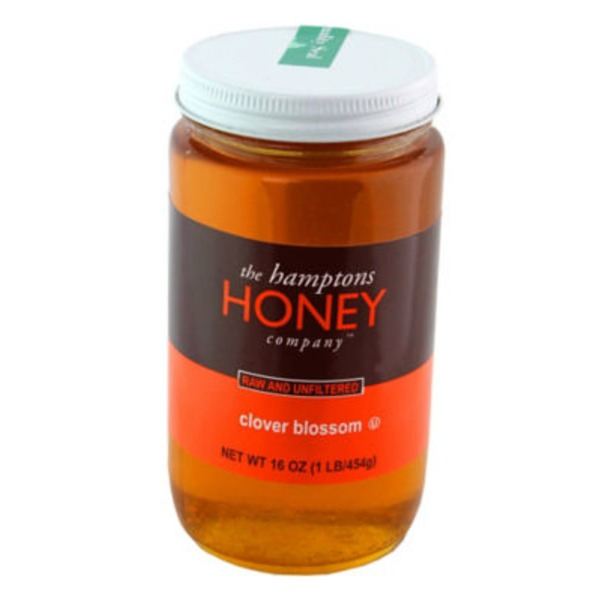 The Hamptons Honey Company Raw And Unfiltered Honey Clover Blossom