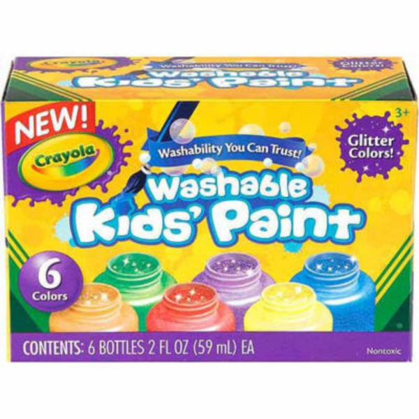 Crayola Washable Kids Glitter Paint