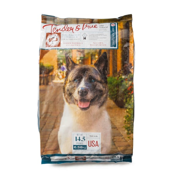 Tender And True Pet Food Dog Food Dry Turkey Brown Rice