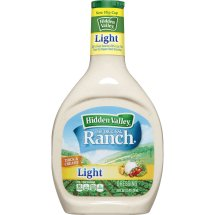 Hidden Valley Original Ranch Dressing, Light, 24 Ounces