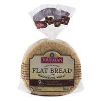 Toufayan Bakeries Flat Bread Wholesome Wheat - 5 CT