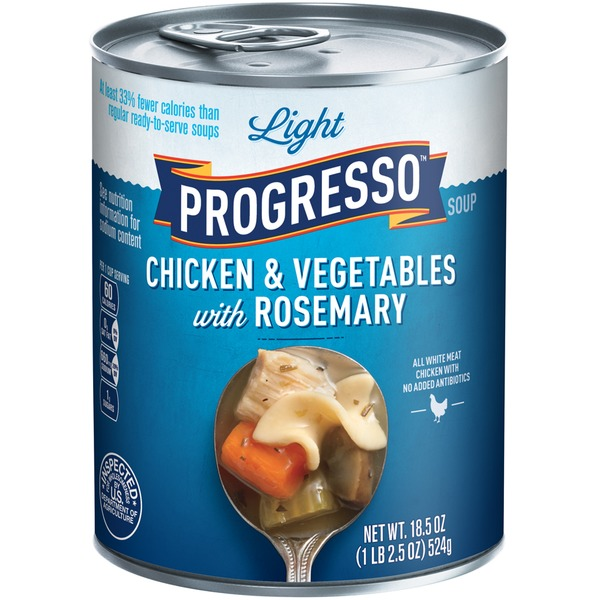 Progresso Light Chicken & Vegetables with Rosemary Soup