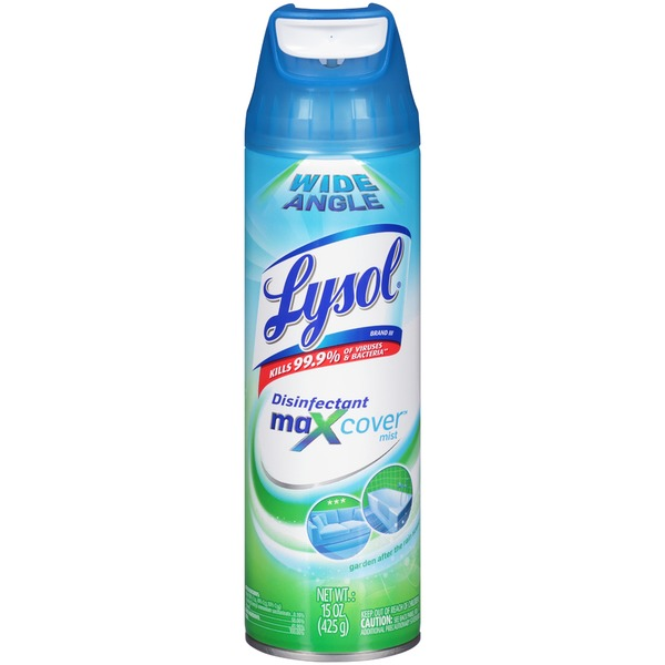 Lysol MaXcover Mist Garden After The Rain Scent Disinfectant