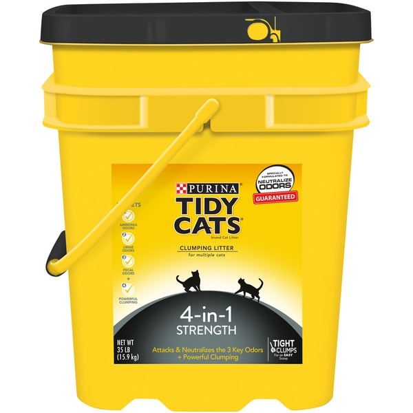 Tidy Cats Clumping 4-in-1 Strength Cat Litter