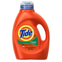 Tide Mountain Spring Scent Liquid Laundry Detergent, 100 oz, 64 loads