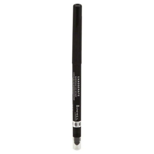 Rimmel Eye Definer, Waterproof, Starlit Black 263, Exaggerate, Not Packed