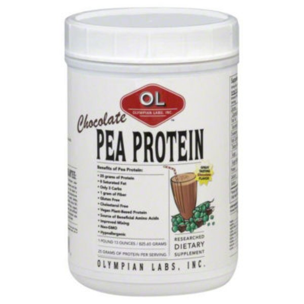 Olympian Labs Pea Protein, Chocolate