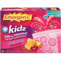 Emergen-C Kidz Fruit Punch Vitamin C 250mg Drink Mix Dietary Supplement