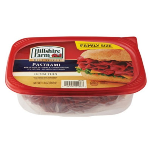 Hillshire Farm Deli Select Ultra Thin Pastrami Lunch Meat