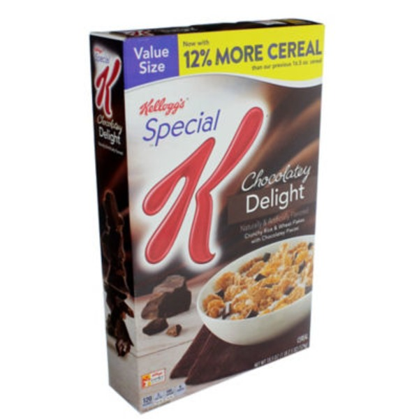 Kellogg's Special K Chocolatey Delight Cereal Cereal