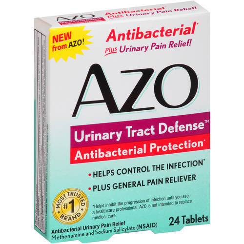 AZO Urinary Tract Defense Antibacterial Urinary Pain Relief Tablets