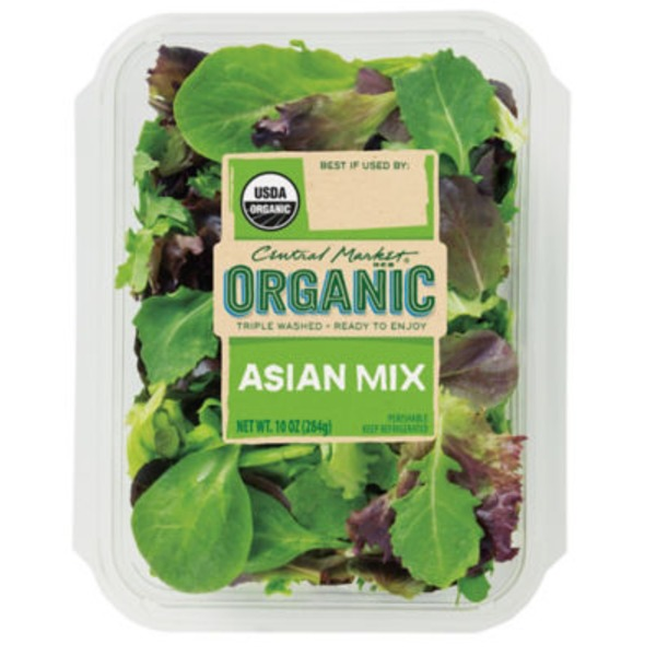 Central Market Organic Asian Mix Greens